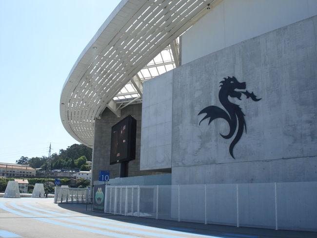Architecture Building Building Exterior City Dragao Estadio Fc Porto Football Stadium Modern