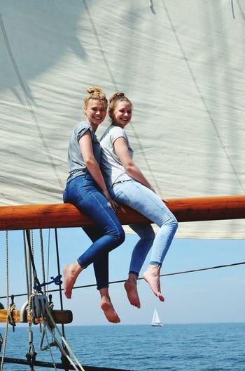 Sister👭 Love Family SisterLovee ♥ Holidays Segeln FamilyTime Netherlands
