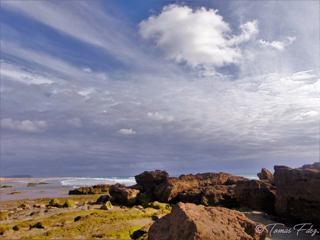 nature, sky, cloud - sky, scenics, rock - object, tranquil scene, tranquility, beauty in nature, landscape, no people, day, outdoors, water