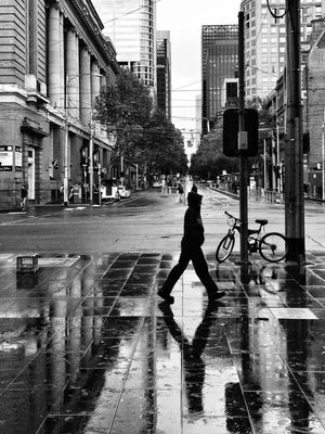 blackandwhite in melbourne by Jim McDonagh