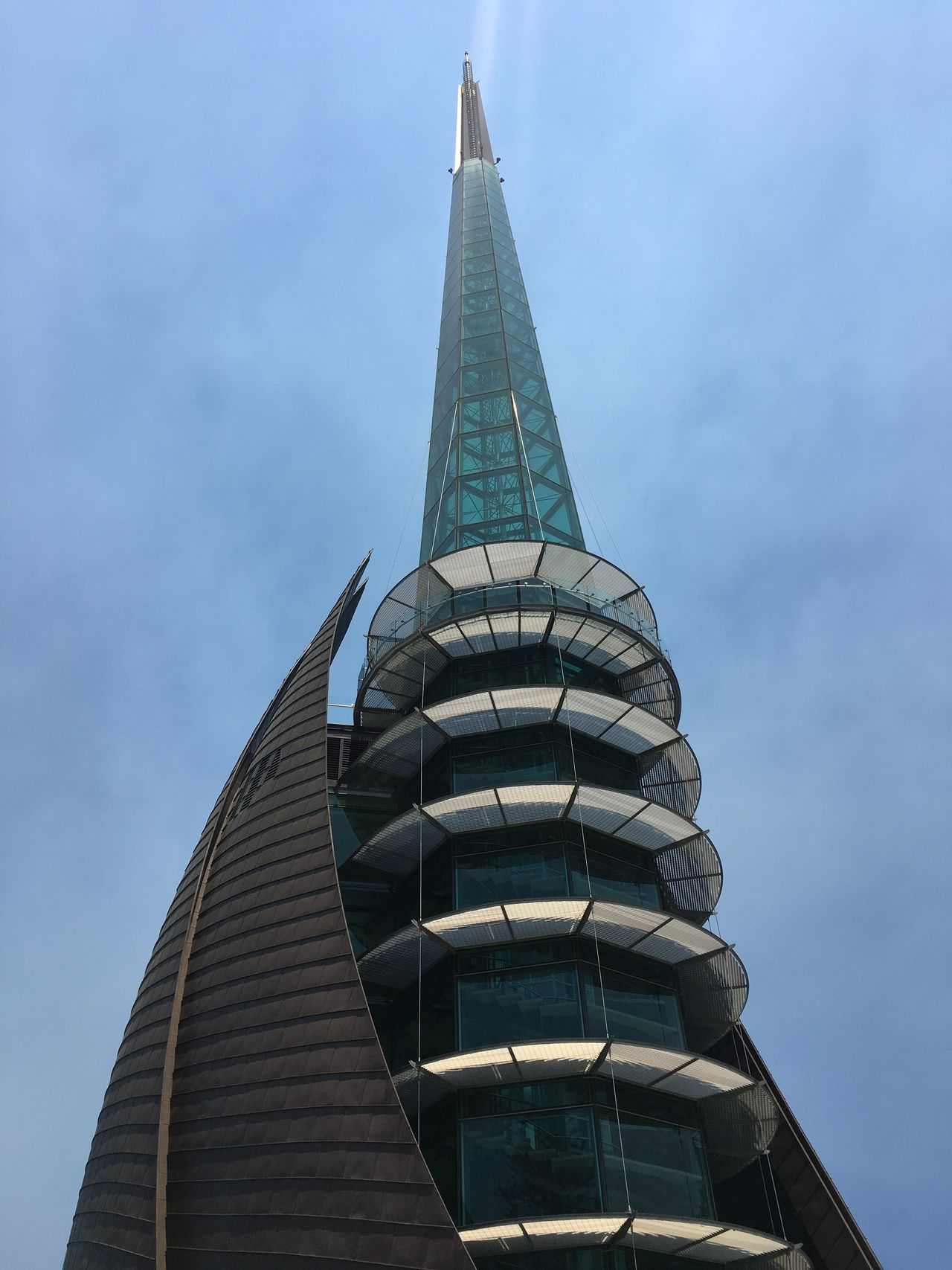 Built Structure Low Angle View Building Exterior Sky City Travel Destinations No People Skyscraper Bell Tower Perth Travel The Architect - 2017 EyeEm Awards