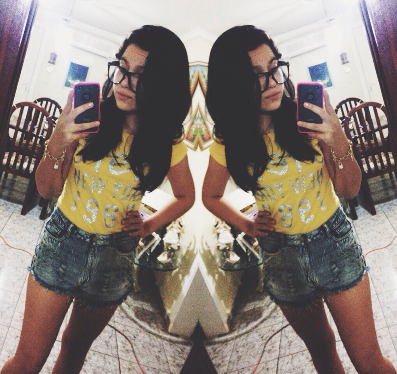 Double Trouble Me X2  Hipster I Don't Know