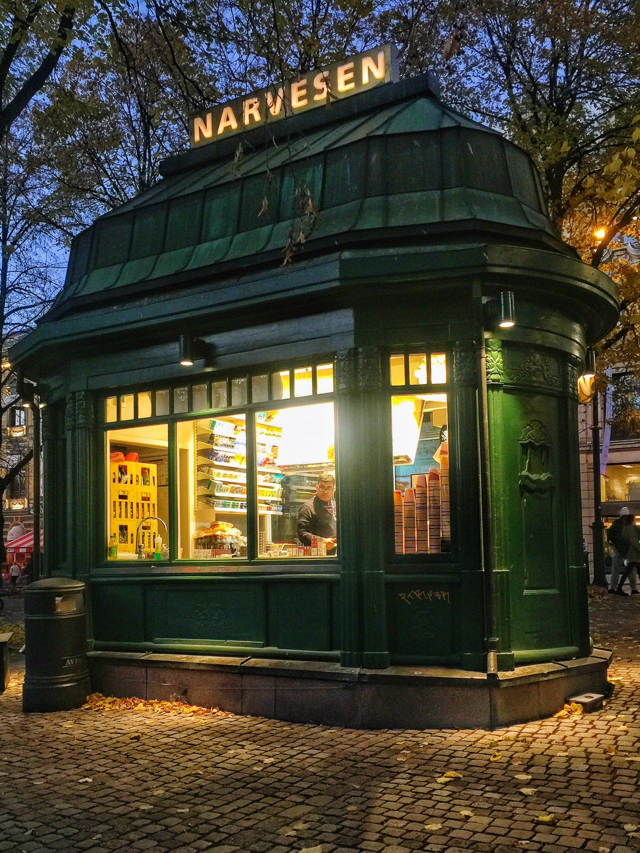 Lovely little kiosk Architecture Streetphotography Retro Retro Style Norway Oslo Oslo Norway Visitnorway Visitoslo Classic Norway Beautiful Destinations Travel Destinations Autumn Old-fashioned