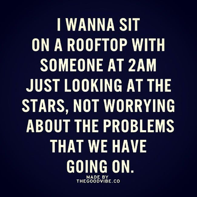 Roof Silence 2A .m Stars with someone