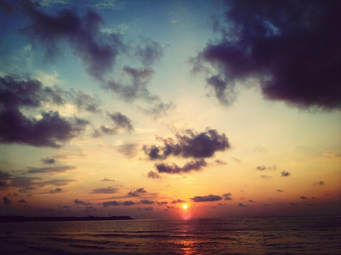 Summer Sea Beach Sunrise