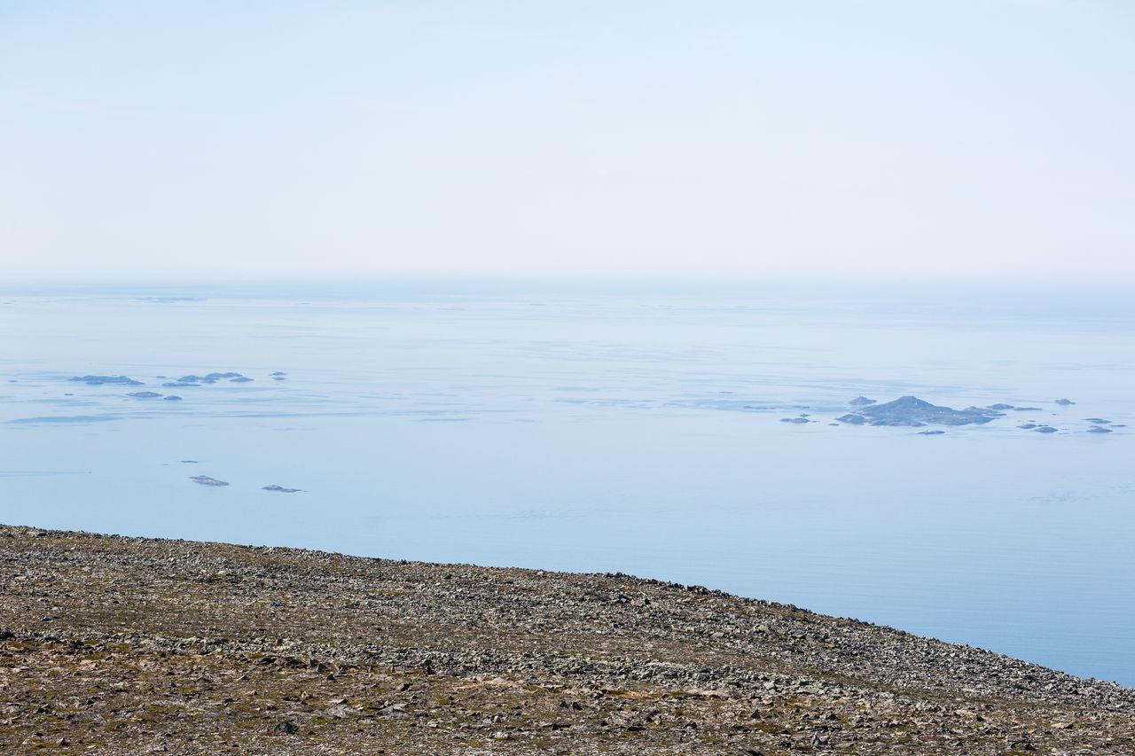 Blue Blue Sky Calm Calm Sea Calm Water Hiking Horizon Over Water Idyllic Islands Mountain View Northern Norway Ocean Ocean View Pastel Pastel Colors Pastel Power Pastel Sky Rocky Sea Sea And Sky Summit View Gråtinden Wanderlust