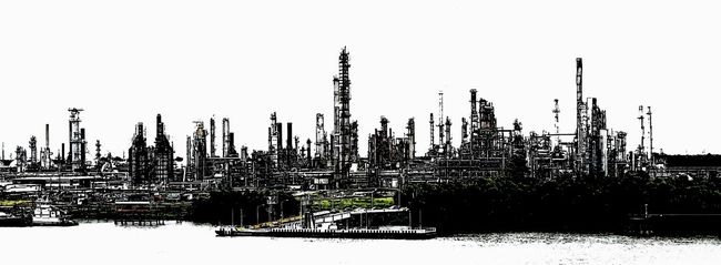 Chalmette Refinery Corporate Business Industrial Industrial Playground Louisianna Mississippiriver Offshore Life Refinery Refinery29 Urban Skyline
