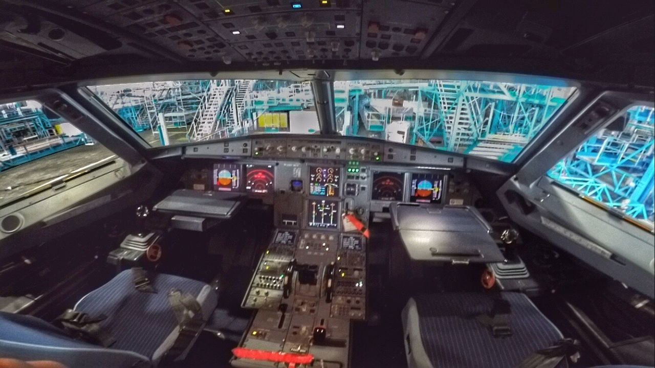 A320 Cockpit A320 Airbus A320 Airbus Aviation Envision The Future EyeEm Best Shots Goprohero4 Goprooftheday GoPrography