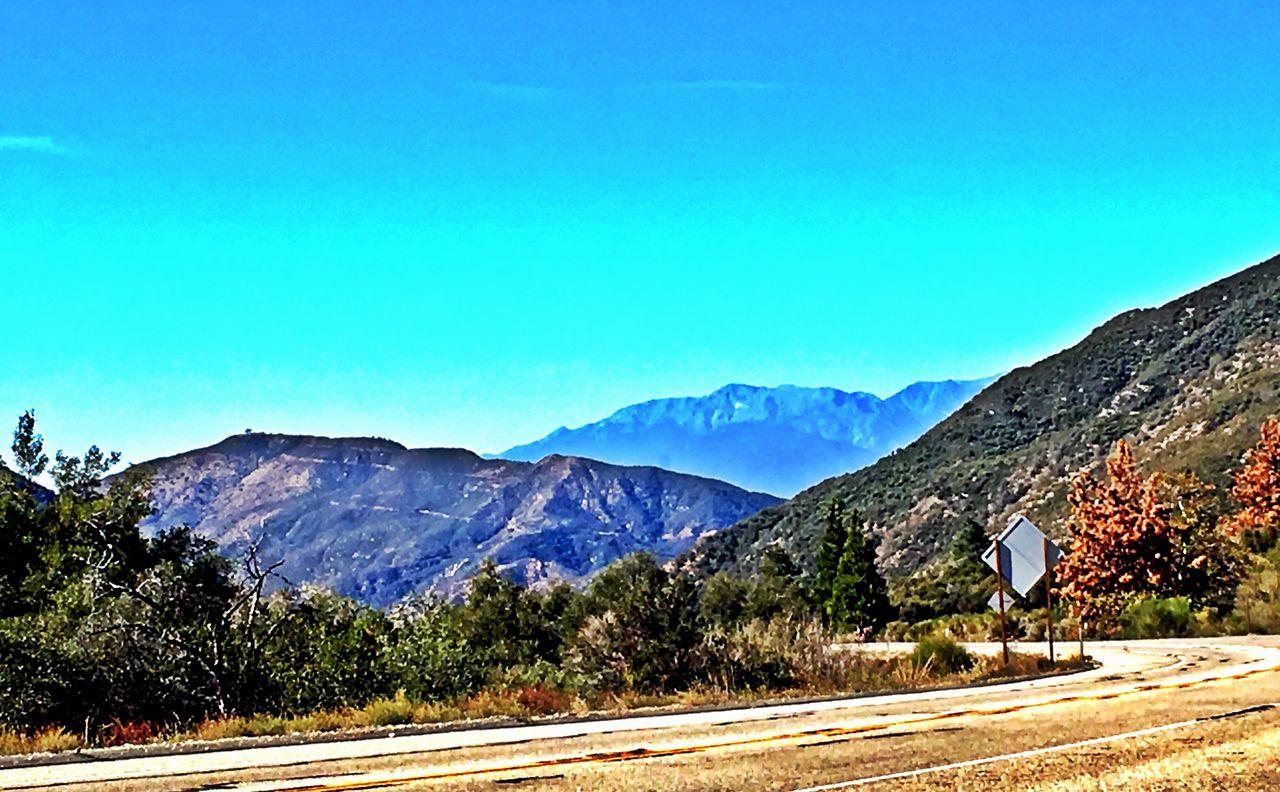 Misty mountain hop...