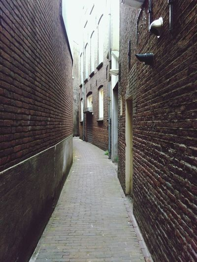 Alley Zwolle centre Alley Zwolle Old Centre First Eyeem Photo