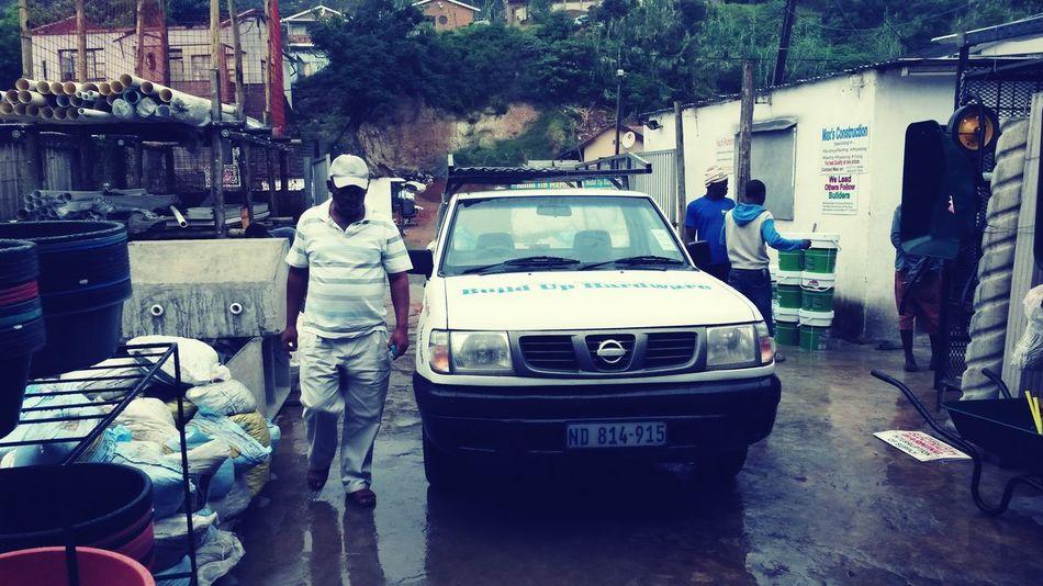 Man Walking Majestic South Africa Durban Hardware Store Nissan HardBodies❤