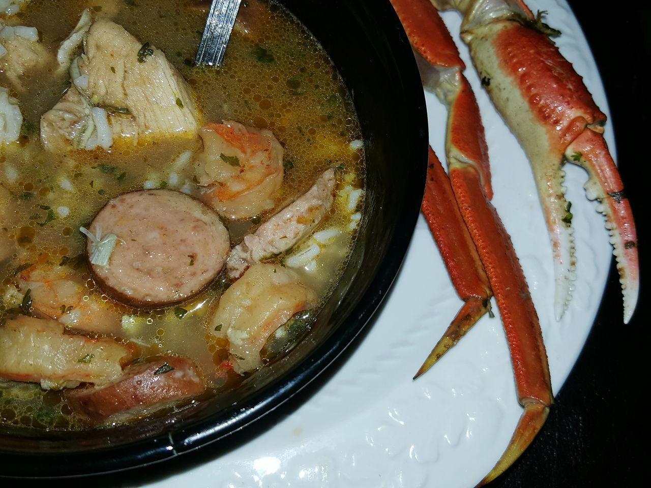 Food for the Soul. Authentic Cajun Soulfood Seafood Food And Drink Shrimp Crab Legs Gumbo Moms Cooking Delicious Hot Food Cold Nights Food No People Bowl Freshness Healthy Eating Ready-to-eat Indoors  Close-up Day