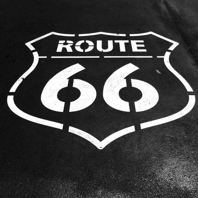 USA Travel Highway Street IPhoneography Blackandwhite