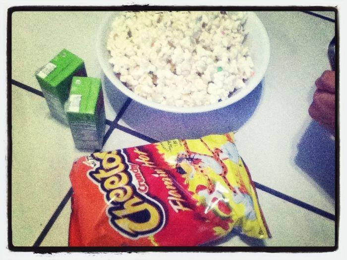 Movie Night With Sister