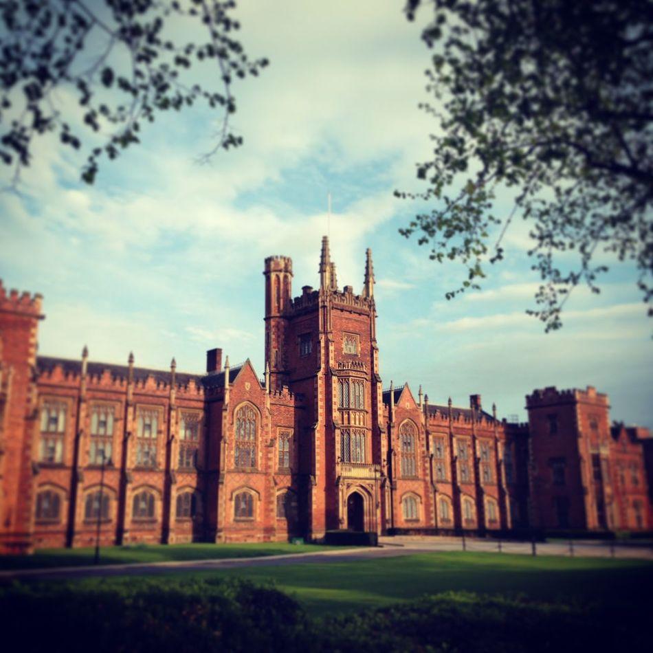 Queens University Belfast Architecture Northern Ireland