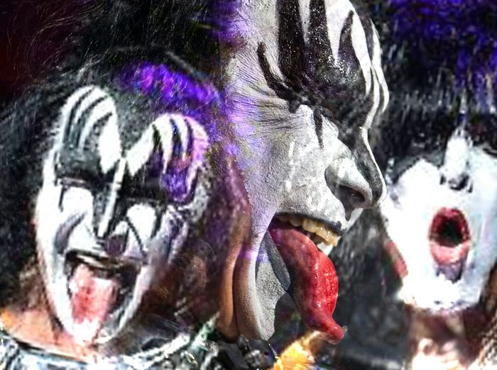 Kiss Kissarmy Gene Simmons Paul Stanley Pixlrapp Edit Mystyle the loudest band in the land