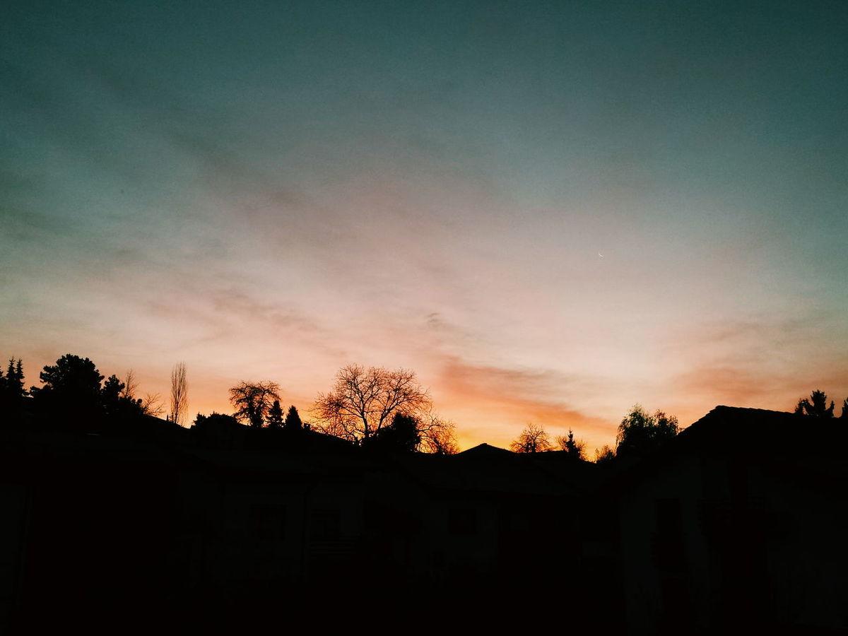 Today's beautiful sunrise. Sunrise Sunset Sky Clouds And Sky