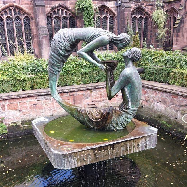 Jardines de la Catedral de Chester