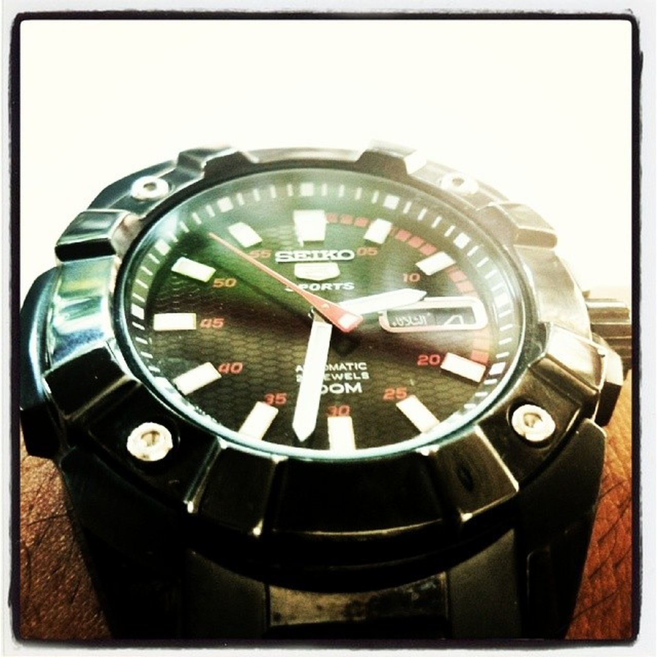 My favorite... Watches Seiko Sports Automatic 21jewels 100m