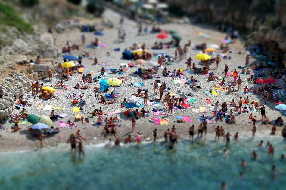 Beach Best Edits  Colors Of Summer Effects From Above  People Summer Views Summertime Tilt Shift Trowback Photos The Great Outdoors - 2016 EyeEm Awards People Together