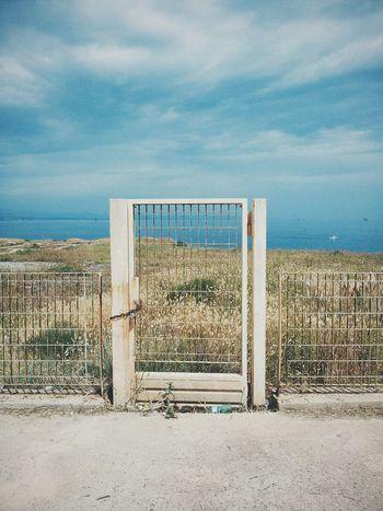 Gate Sky Vscocam VSCO