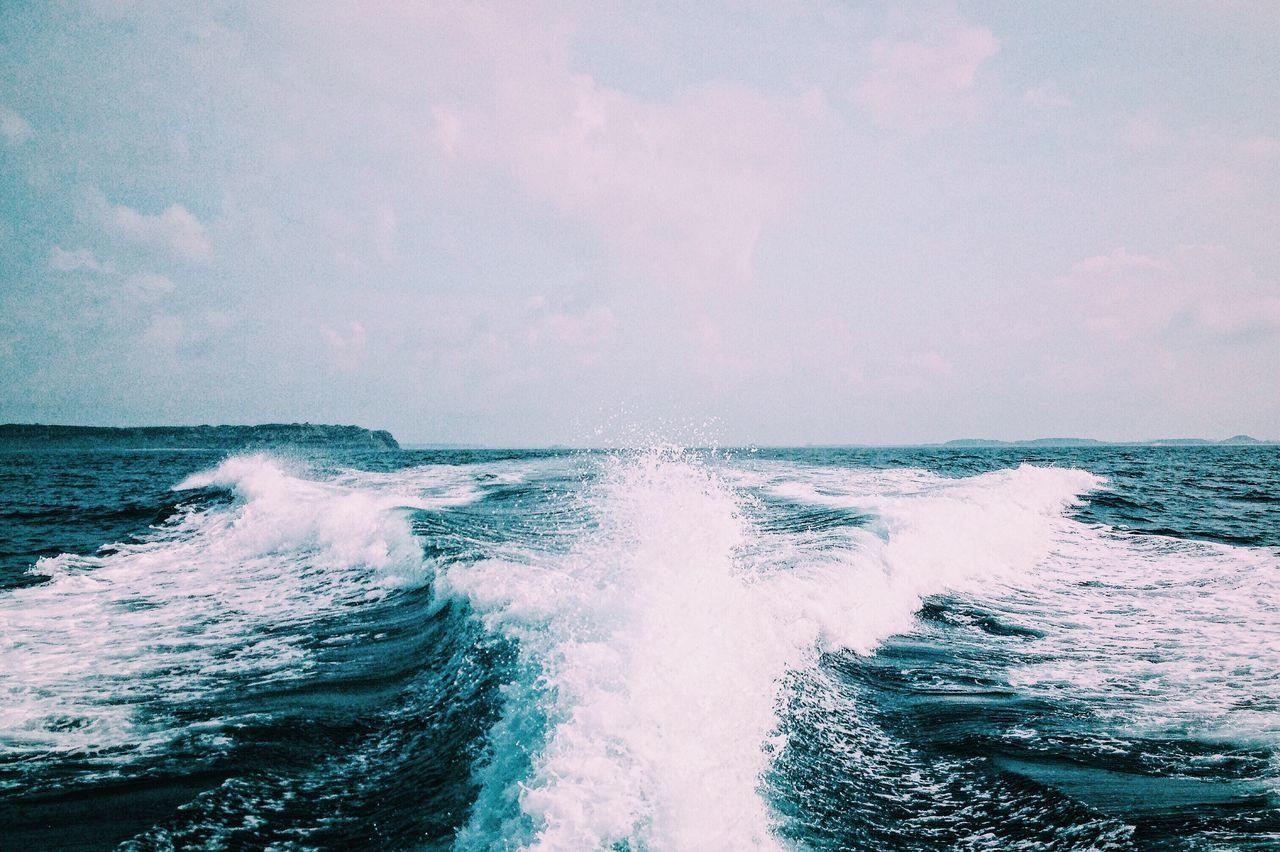 Nature Beauty In Nature Ocean