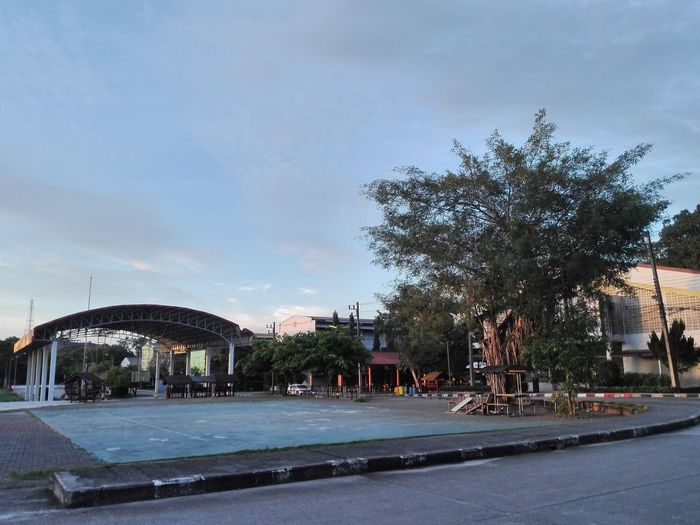 School Thailand Basic Day Tree Outdoors Sky Water No People City