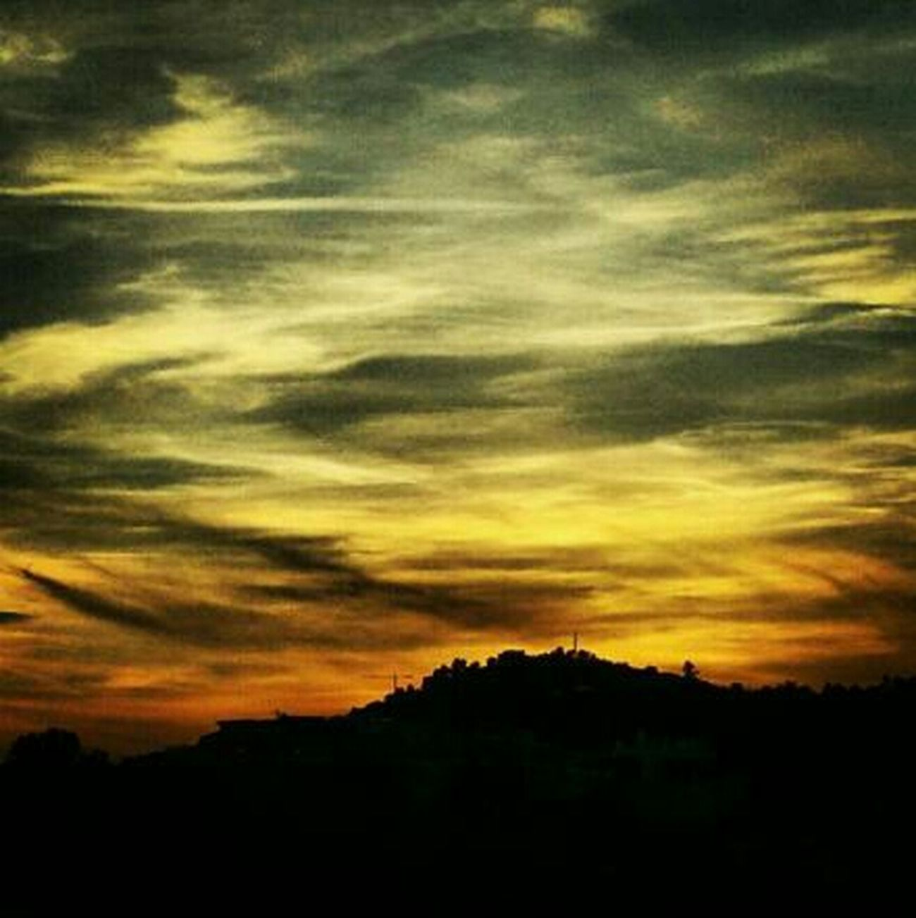 Sky Sol Posta De Sol Movilgrafias Cel Nubols Muntanya 1001_styles