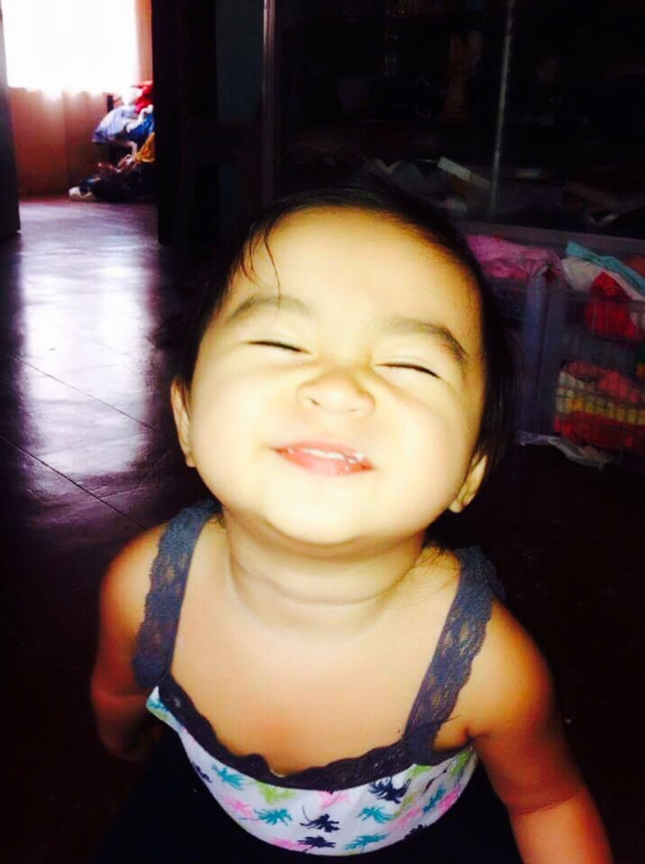 Laugher Babygirl Stressreliever Simple Moment Daughterlove Priceless Tenderness Eyes Closed  Lovely Lovelovelove