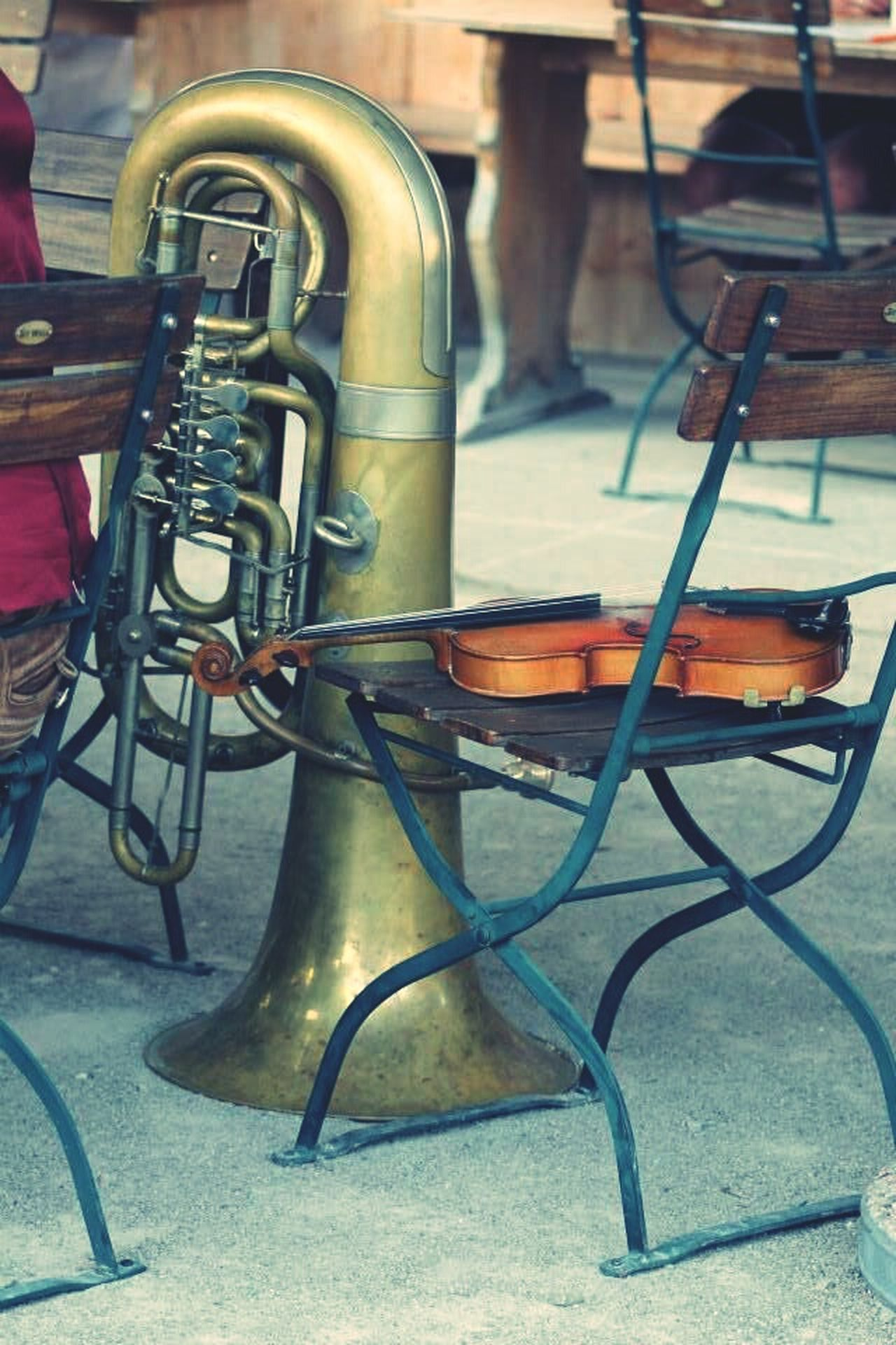 Musical Instrument Folklore Geige Tuba