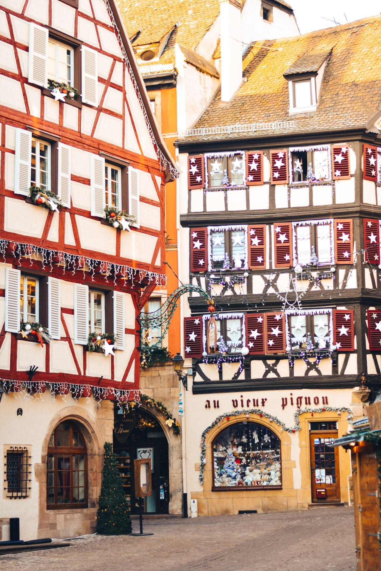 My Year My View Building Exterior Architecture Built Structure City Outdoors Residential Building No People Day Statue Sky Travel Wanderlust Fairytale  Christmas France Colmar Travel Destinations Christmas Market Wonderful City Architecture Christmas Ornament Streetphotography