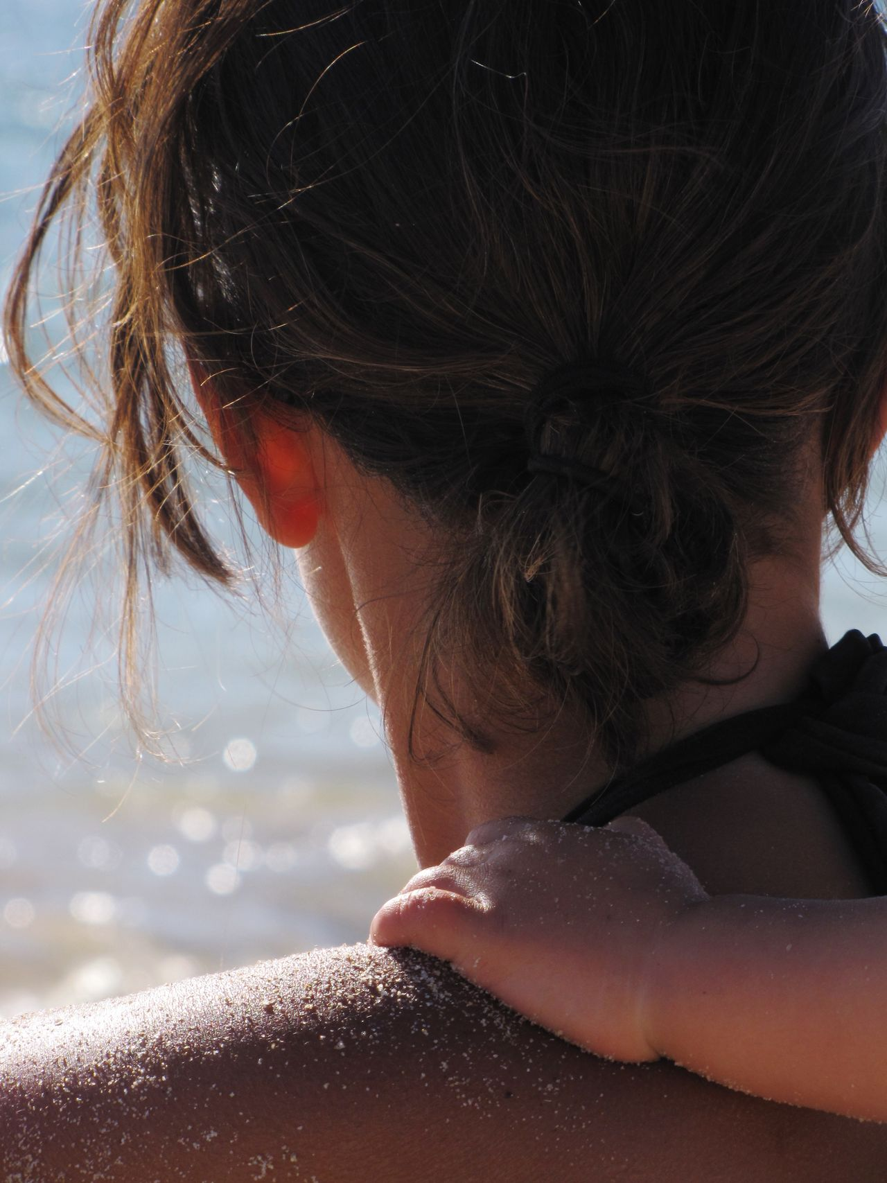 Beautiful stock photos of mother's day, Beach, Bonding, Child, Close-Up