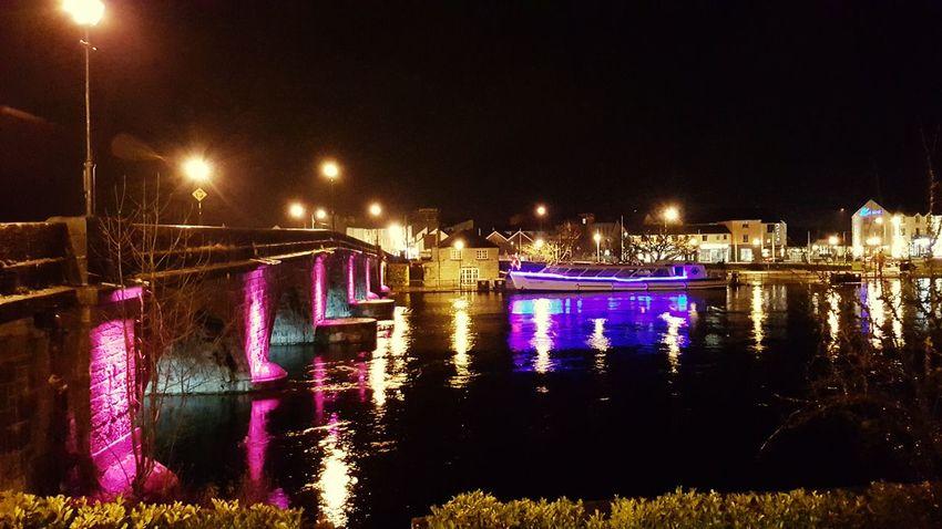 Carrick On Shannon Leitrim Ireland Night Lights River At Night Bridge The Week On EyeEm