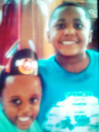 TJ && His Big Brother Jordan : )