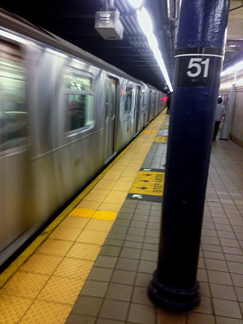 Need For Speed Life In Motion Lifeinthefastlane Subway New York City Manhattan Subway Train 51st Street Commuting Subway Station Metro Metrostation