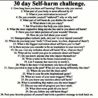 I've gotten countless amounts of people asking for my story. Well, for the next thirty days, you get to find out. I may end up posting more than one a day but whatever. After this, I'll never post about it again. Shc 30day