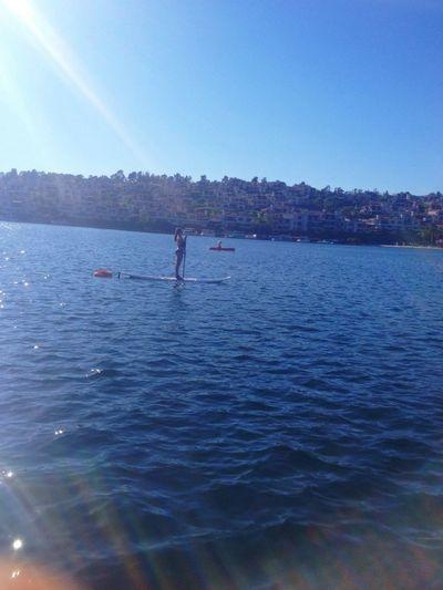 Where Do You Swarm? Out on the deep blue Beach Lake EyeEm