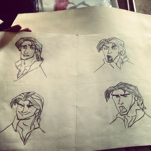 Aladin Sketch Diffexpressions Moodswings laugh attitude anger still shockd smile greylook lovesketchng ;)