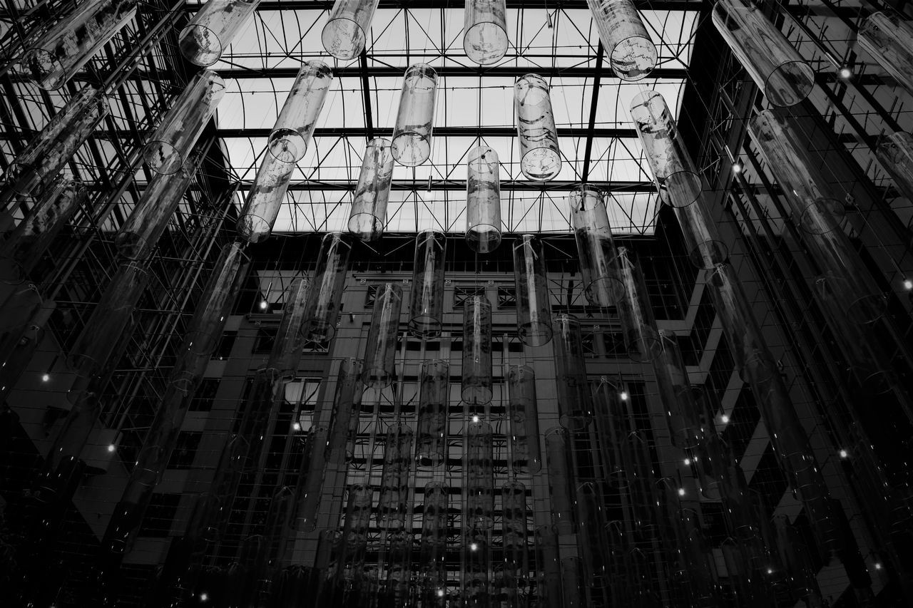 Melbourne Architecture Architecture B&w B&w Photo Blackandwhite Built Structure City Day Delicate Glass Indoors  Inside Inside Photography Low Angle View Modern No People