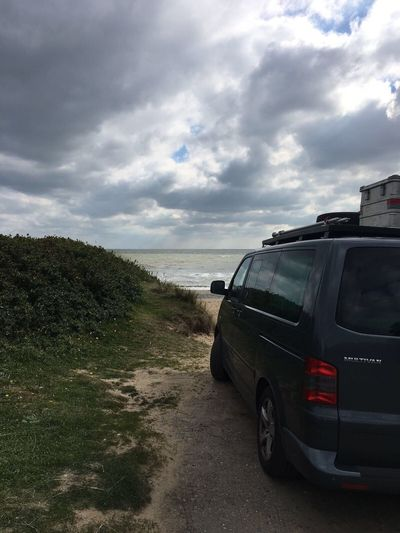 Beauty In Nature Beach Volkswagen Eire Ireland