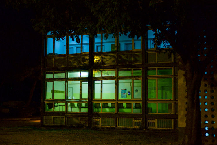 Colors Nightphotography Architecture Built Structure Colorful Neon Neon Life Night Nightshot No People Outdoors Window