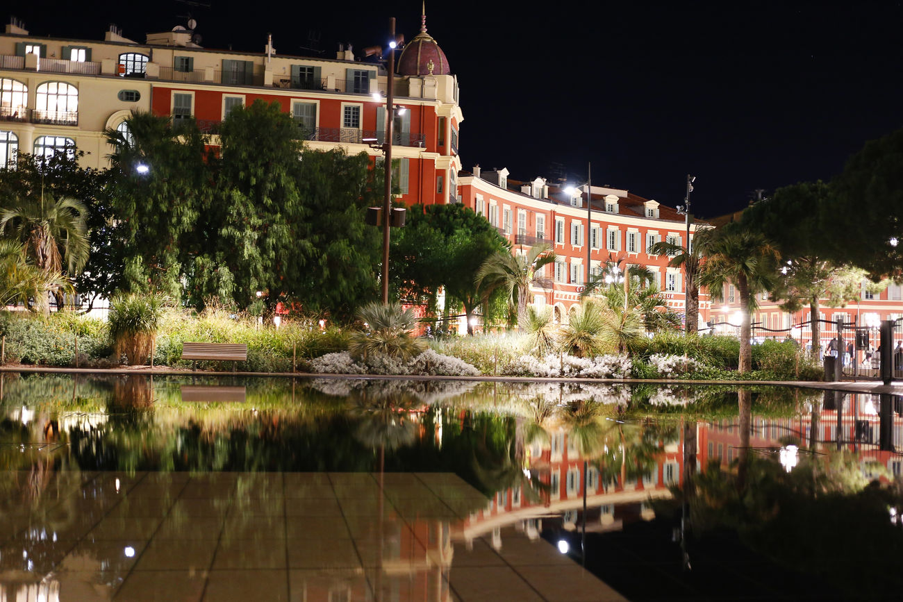 Architecture France Nature Night Night Lights Nightphotography No People Outdoors Reflection Sky Travel Destinations Traveling Water