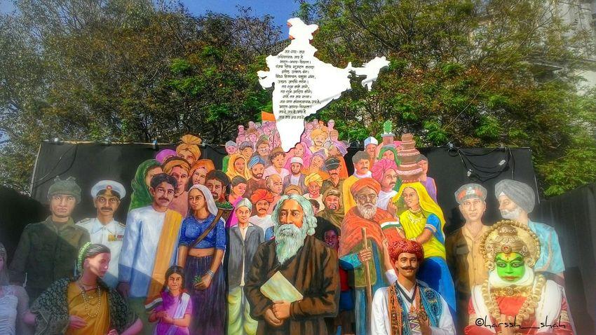 Unityindiversity India Kalaghoda Kalaghoda Festival ArtWork