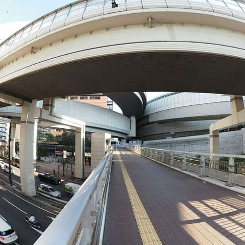 Fisheye From My Point Of View Relaxing Streetphotography Walking Around Junction Taking Photos Highway Japan Photography Urban Geometry 田園都市線、246、首都高…この辺りは色々密集してるな(苦笑)。