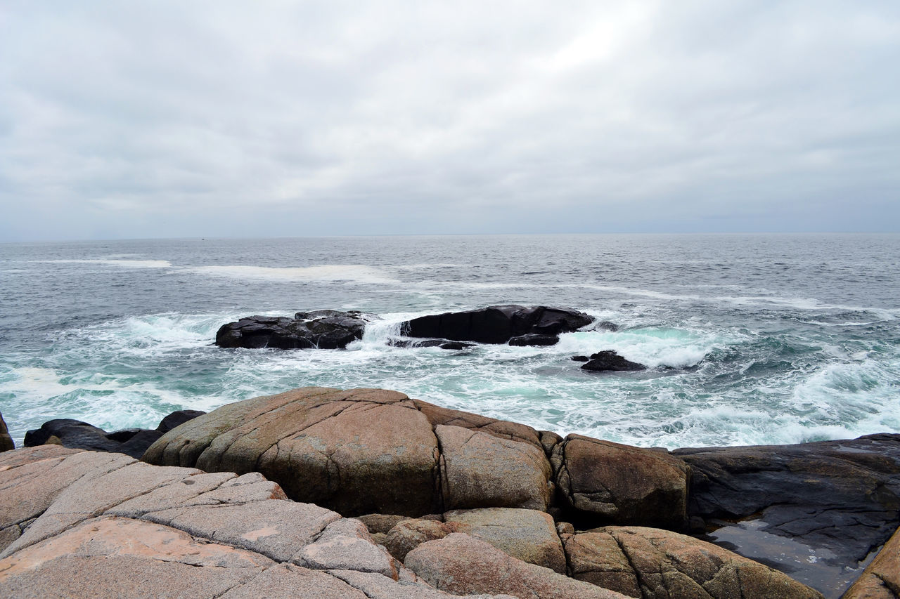 Waves at Peggy's Cove Beach Beauty In Nature Horizon Over Water Nature Nature Photography Nature_collection Ocean Ocean Photography Ocean View Ocean Waves Oceanside Outdoors Rock - Object Scenics Sea Sky Tranquil Scene Water Wave Waves Waves And Rocks Waves Crashing Waves Crashing On Rocks Waves, Ocean, Nature