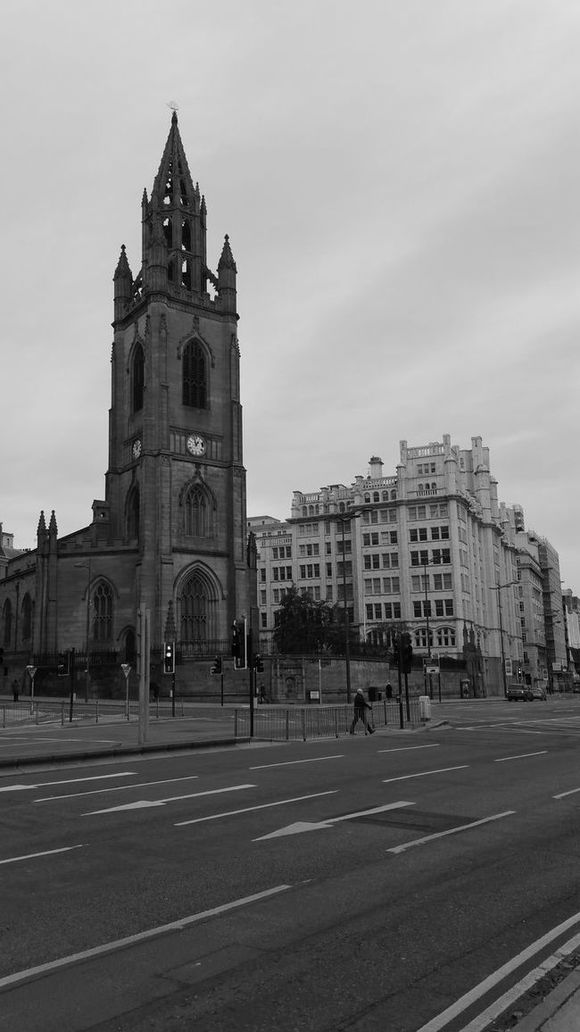 Church Black And White Photography Liverpool Bleak Black And White Architecture_bw B&w Street Photography