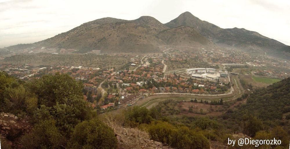 Valle Los Trapenses Desde Cerro Del Medio