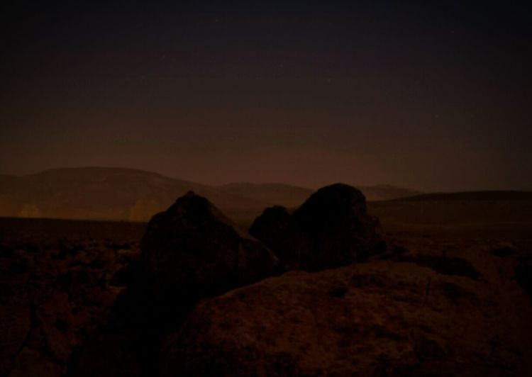 Night Rock - Object Scenics Landscape Outdoors Nature EyeEmNewHere Other Planet Other Worldly Mars Martian  No People