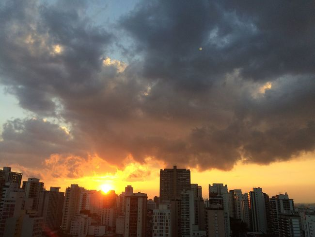 sao paulo BRAZIL 2016 Architecture Building Building Exterior Built Structure City City Life Cityscape Cityscapes Cloud Cloud - Sky Cloudy EyeEm Team Modern Office Building Orange Color Outdoors Residential Building Residential District Sky Skyscraper Sun Sunset Tall - High Urban Skyline Weather
