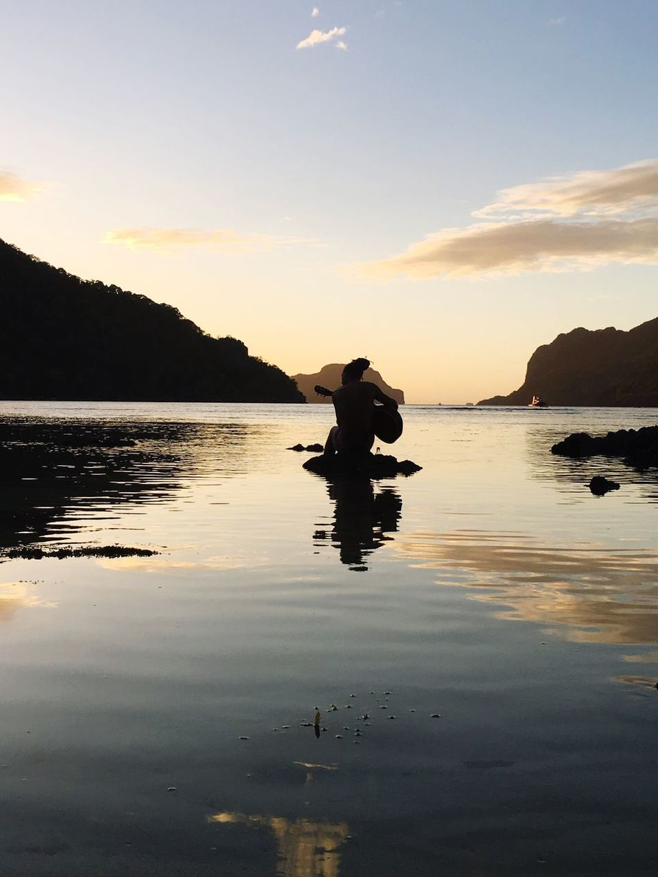Beautiful stock photos of philippines, Arts Culture And Entertainment, Beauty In Nature, Dusk, El Nido